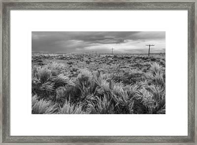 Vestige Of Route 66 Framed Print by Joseph Smith