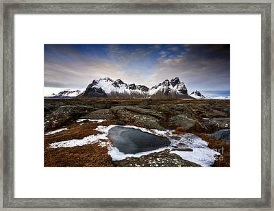 Vestrahorn Framed Print by Roddy Atkinson