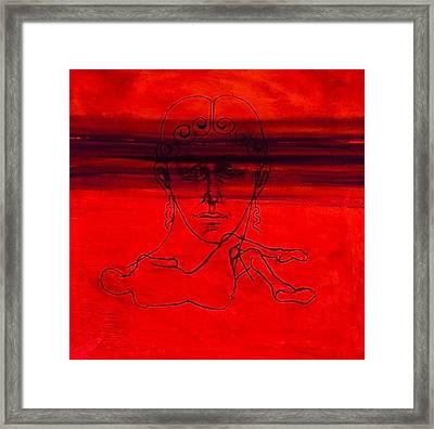 Vesuvius Victim Framed Print by Chris  Riley