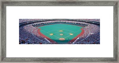 Veteran Stadium, Phyllis V. Astros Framed Print