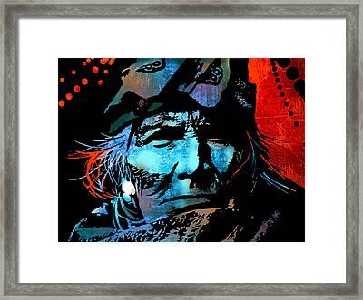 Veteran Warrior Framed Print by Paul Sachtleben