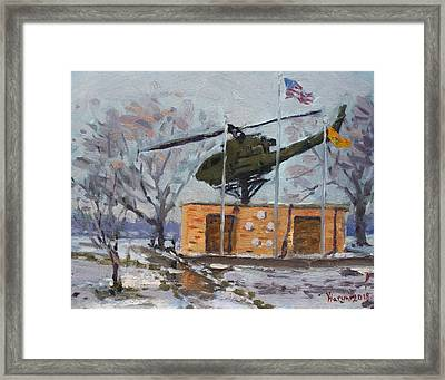 Veterans Memorial Park In Tonawanda Framed Print