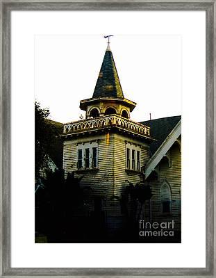 Veterans Way Church Framed Print