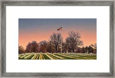 Veterans Framed Print