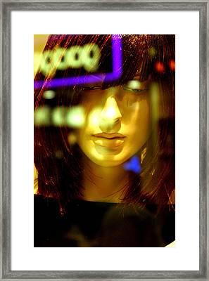 Vetty 2 Framed Print by Jez C Self