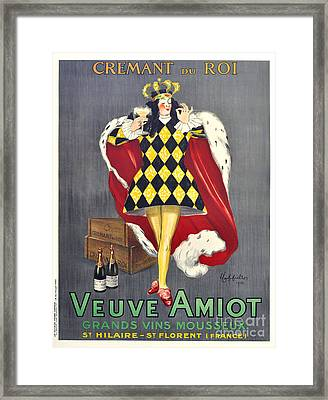 Veuve Amiot Framed Print
