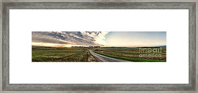Vexin Landscape Framed Print