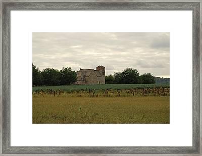 Vezac Church 1300 Framed Print