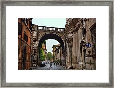 Via Giulia Framed Print by JAMART Photography