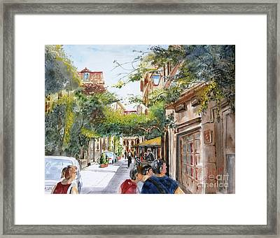via Margutta Framed Print