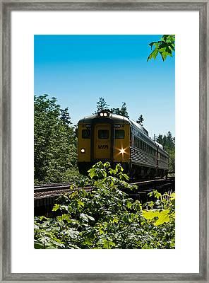 Via Rail - 6135 Framed Print by R J Ruppenthal