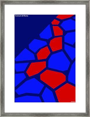 Via Sacra Framed Print by Asbjorn Lonvig