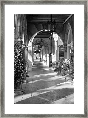 Via Two Framed Print