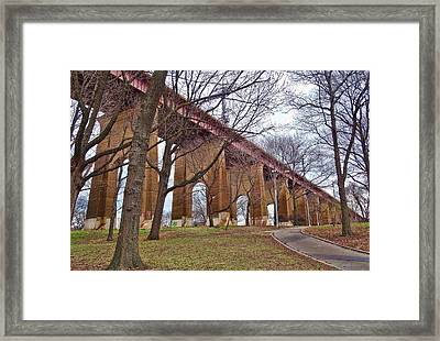 Viaduct Framed Print by Mikki Cucuzzo