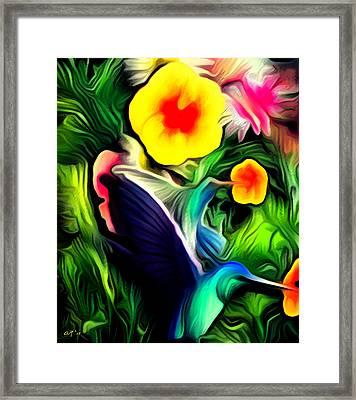 Vibrance Framed Print