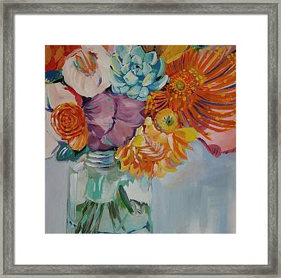 Vibrant  Framed Print by Anne Seay