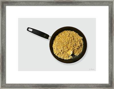 Vibrant Ramen And Butter Framed Print