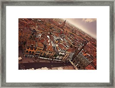 Vibrant Verona Framed Print