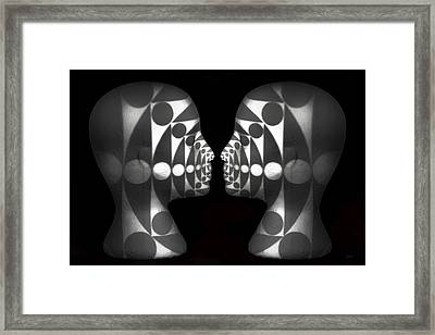 Vibrating Forms Framed Print by Jeff  Gettis