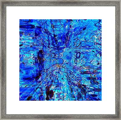 Vibration Of The Caribbean Plate Framed Print