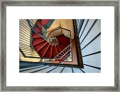 Vicenza Spiral Framed Print by Bill Mock