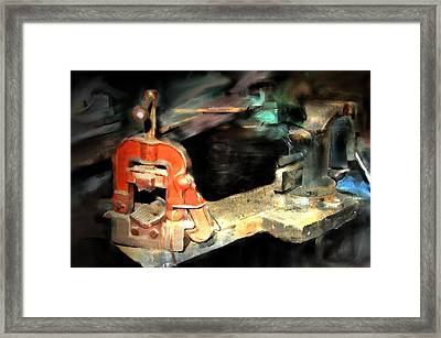 Vices Of My Father Framed Print by Ken Barker
