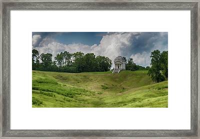 Vicksburg National Military Park - Illinois Memorial Framed Print