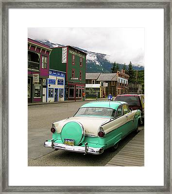 Vicky In Skagway Framed Print