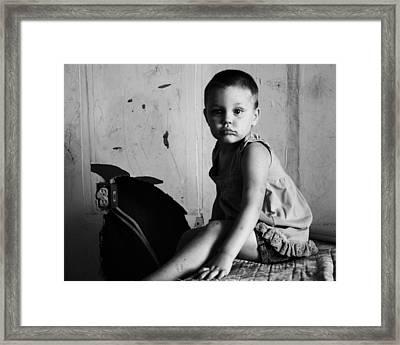 Victim Of Circumstance Framed Print by Dana  Oliver