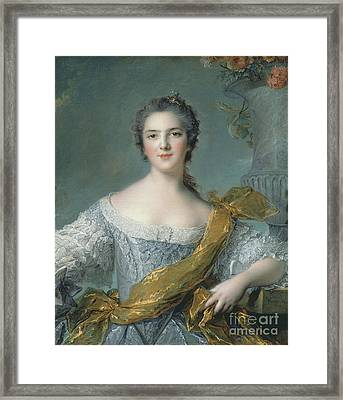 Victoire De France At Fontevrault Framed Print