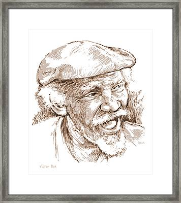 Victor Boa Framed Print