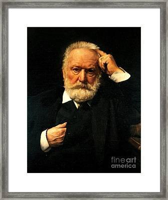 Victor Hugo  Framed Print