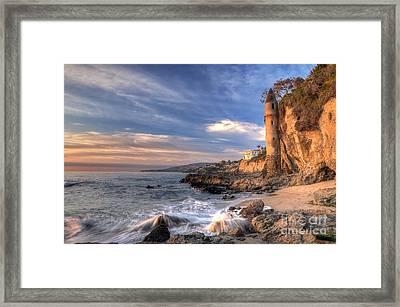 Victoria Beach Framed Print