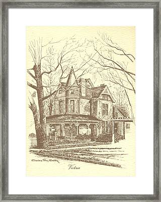 Victoria Framed Print by Charles Roy Smith