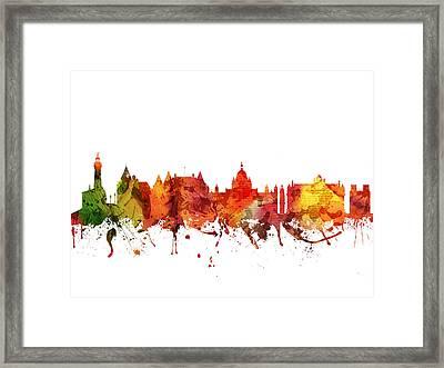 Victoria Cityscape 04 Framed Print