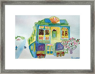 Victoria Corner Framed Print by Paul Thompson