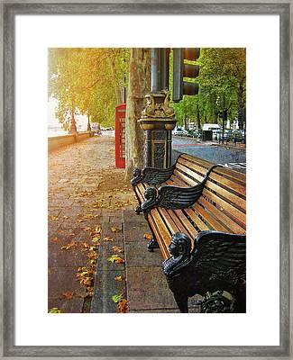 Victoria Embankment Framed Print by JAMART Photography