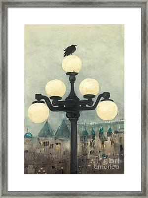 Victoria Evening Framed Print