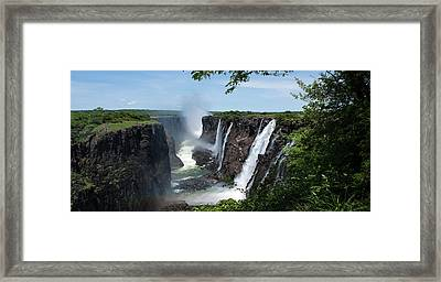 Victoria Falls Gorge Framed Print by Aidan Moran