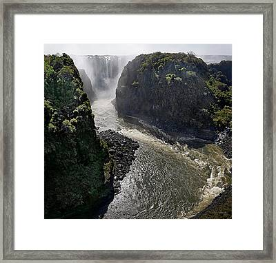Victoria Falls Framed Print by Joe Bonita