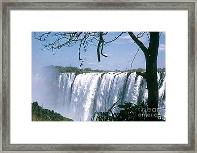 Victoria Falls Framed Print by Photo Researchers, Inc.