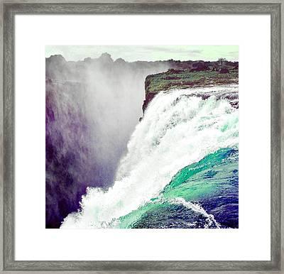 Victoria Falls, Zimbabwe Framed Print by Otis Porritt