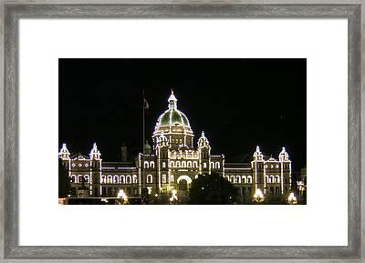 Victoria Legislative Buildings Framed Print