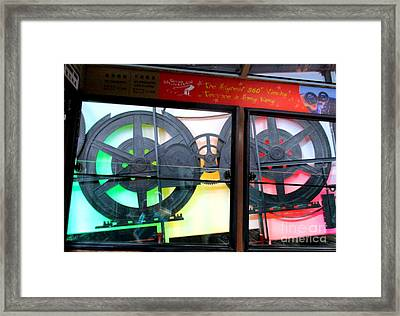 Framed Print featuring the photograph Victoria Peak 4 by Randall Weidner