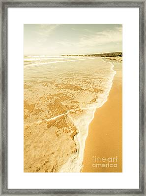Victoria Sea Landscapes Framed Print by Jorgo Photography - Wall Art Gallery