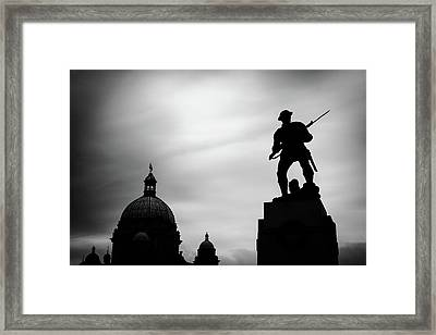 Victoria Silhouettes Framed Print
