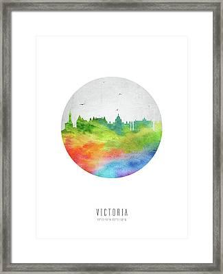Victoria Skyline Cabcvi20 Framed Print