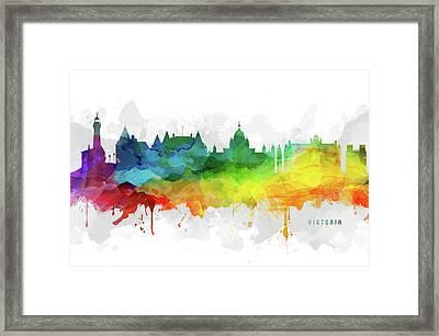 Victoria Skyline Mmr-cabcvi05 Framed Print
