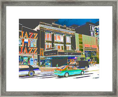 Victoria Theater 125th St Nyc Framed Print by Steven Huszar