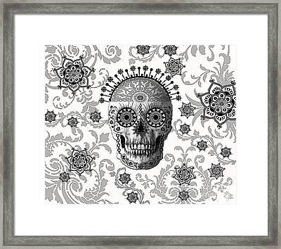 Victorian Bones Framed Print